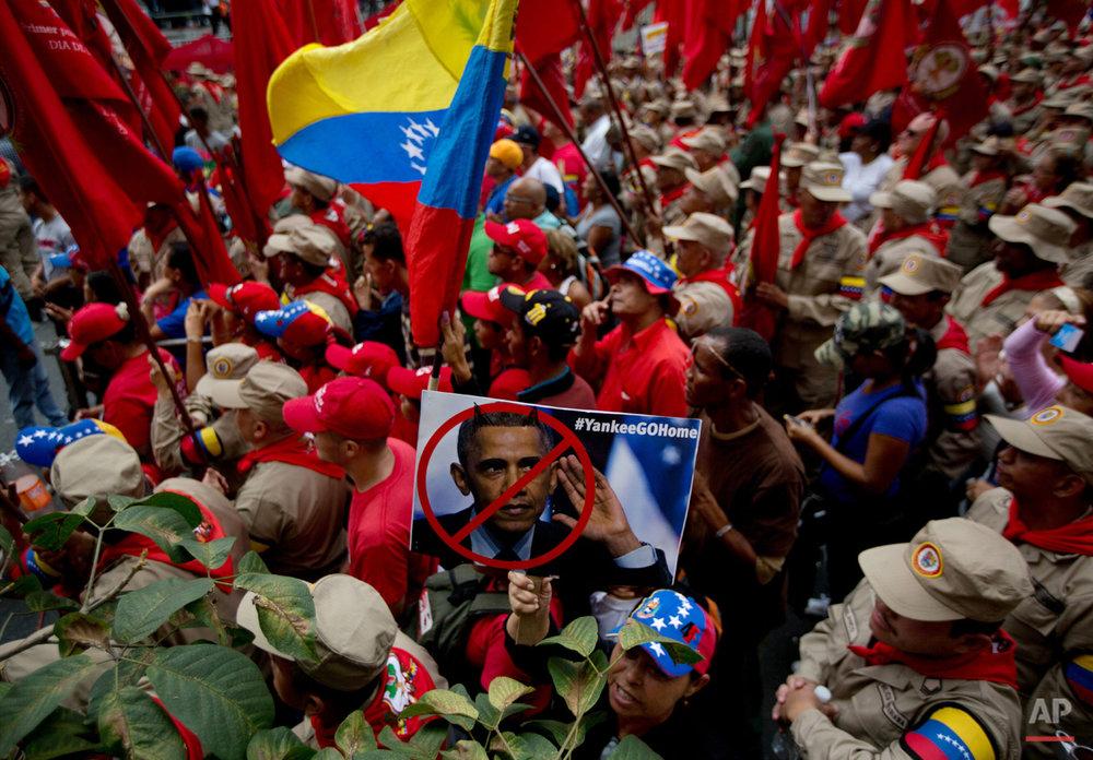 APTOPIX Venezuela US