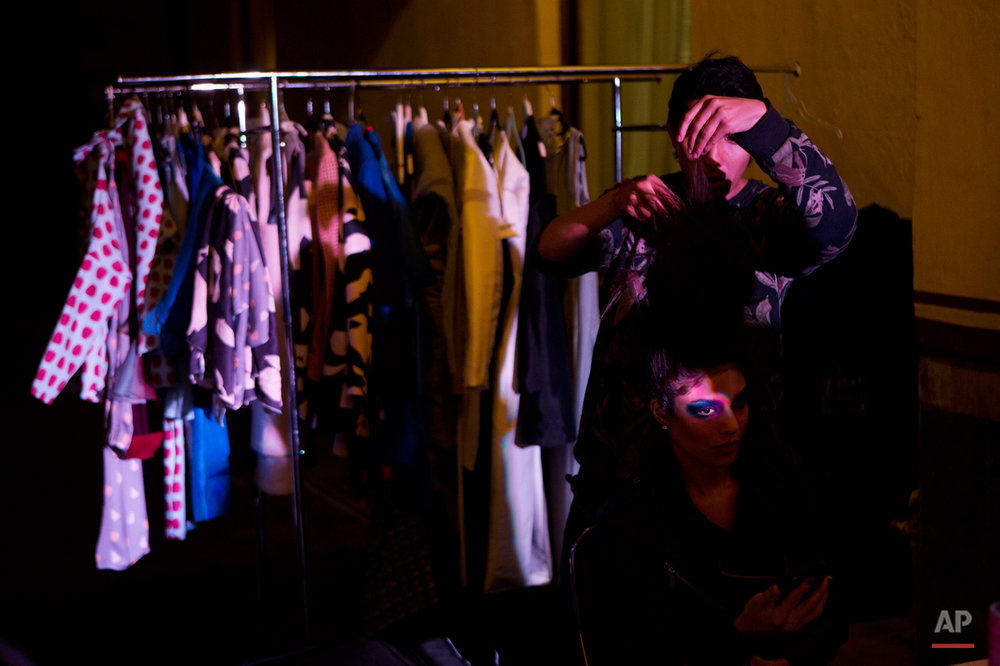APTOPIX Mexico Fashion Lacayo