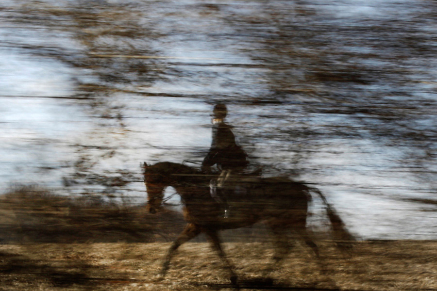 Horsemen chase thrill of the hunt, scent of a fox — AP