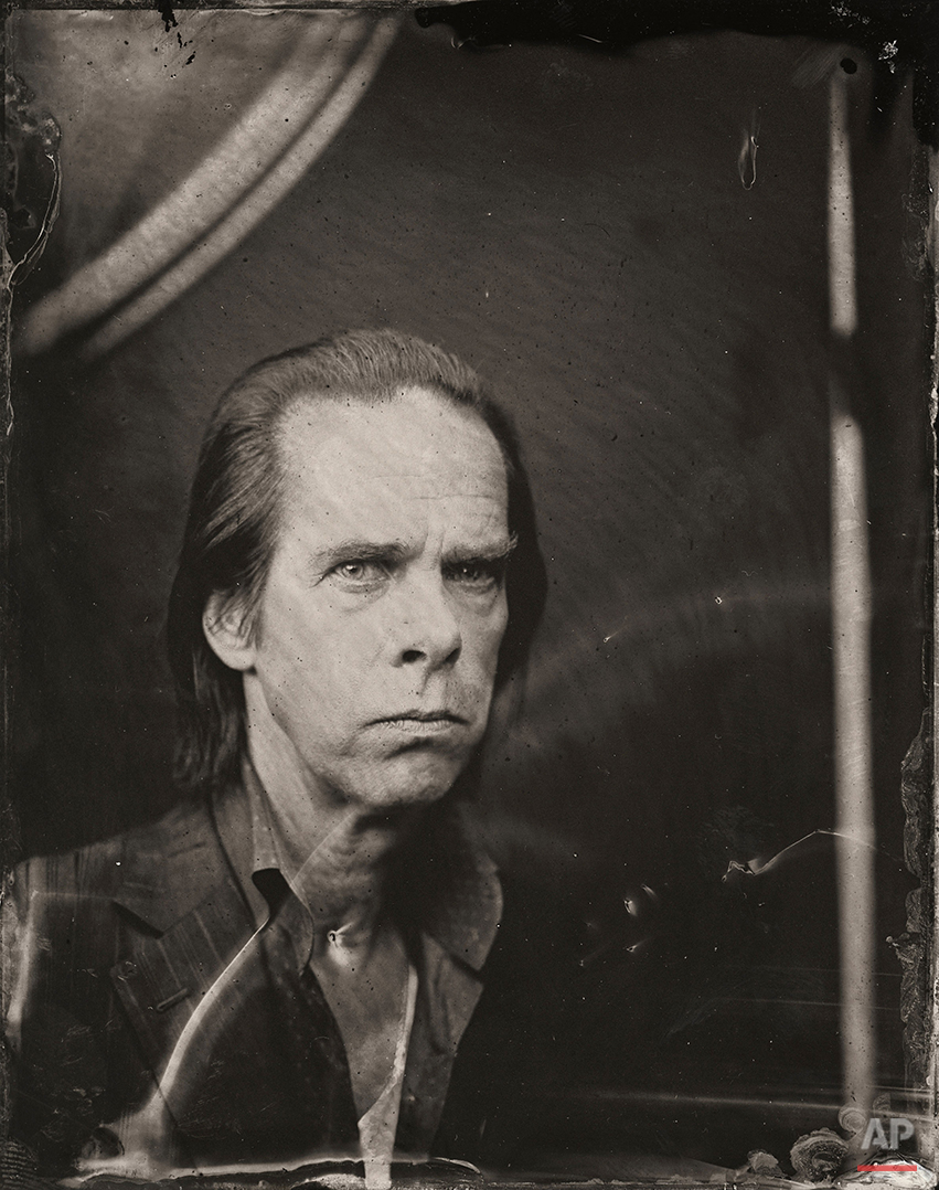 2014 Sundance TIn Type Portraits - Nick Cave