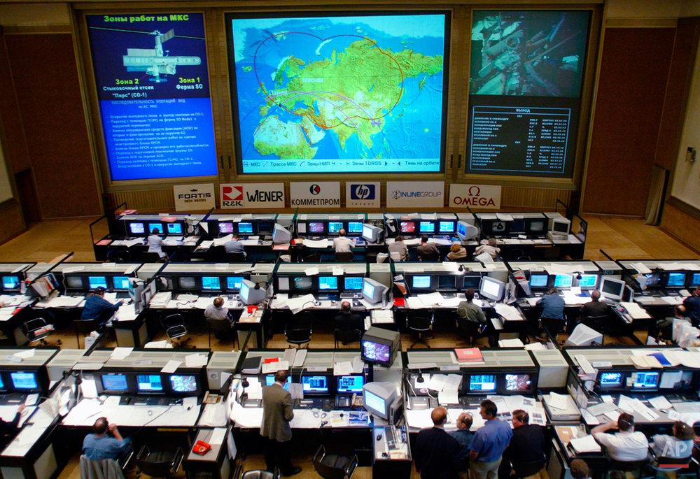 RUSSIA SPACE WALK