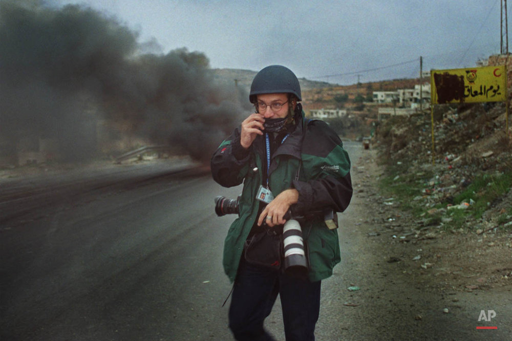 ASSOCIATED PRESS PHOTOGRAPHER LEFTERIS PITARAKIS IN WEST BANK