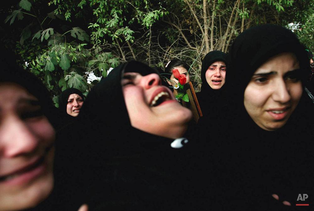 LEBANON ISRAEL MIDEAST QANA FUNERAL