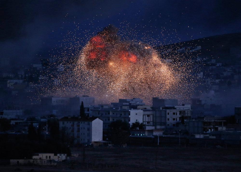 Mideast Islamic State Kobani