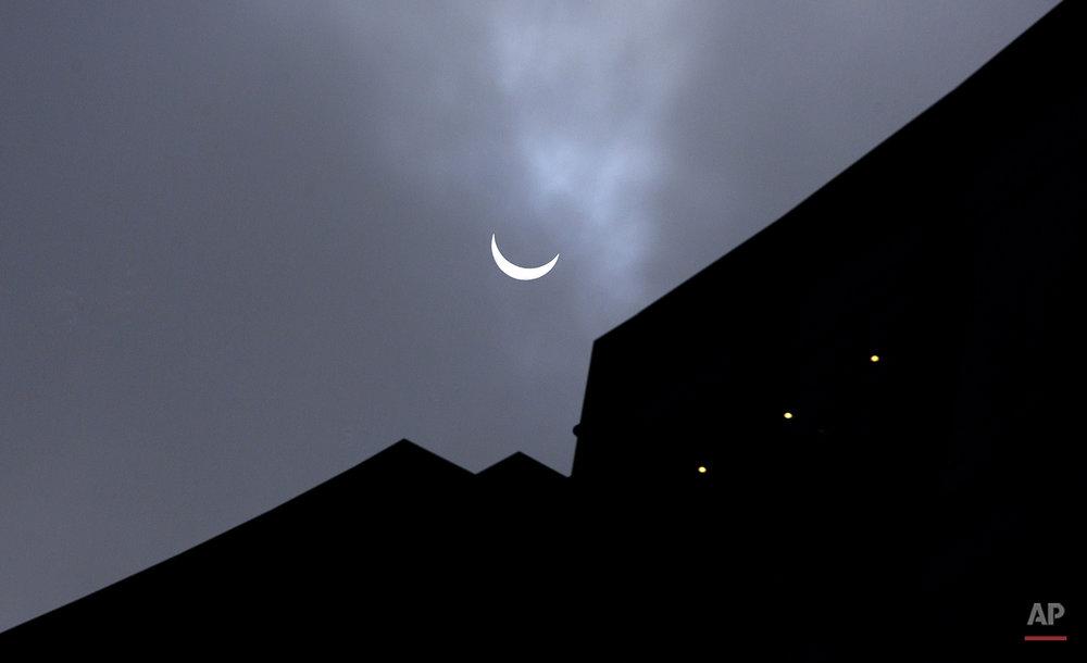 Belgium Europe Solar Eclipse