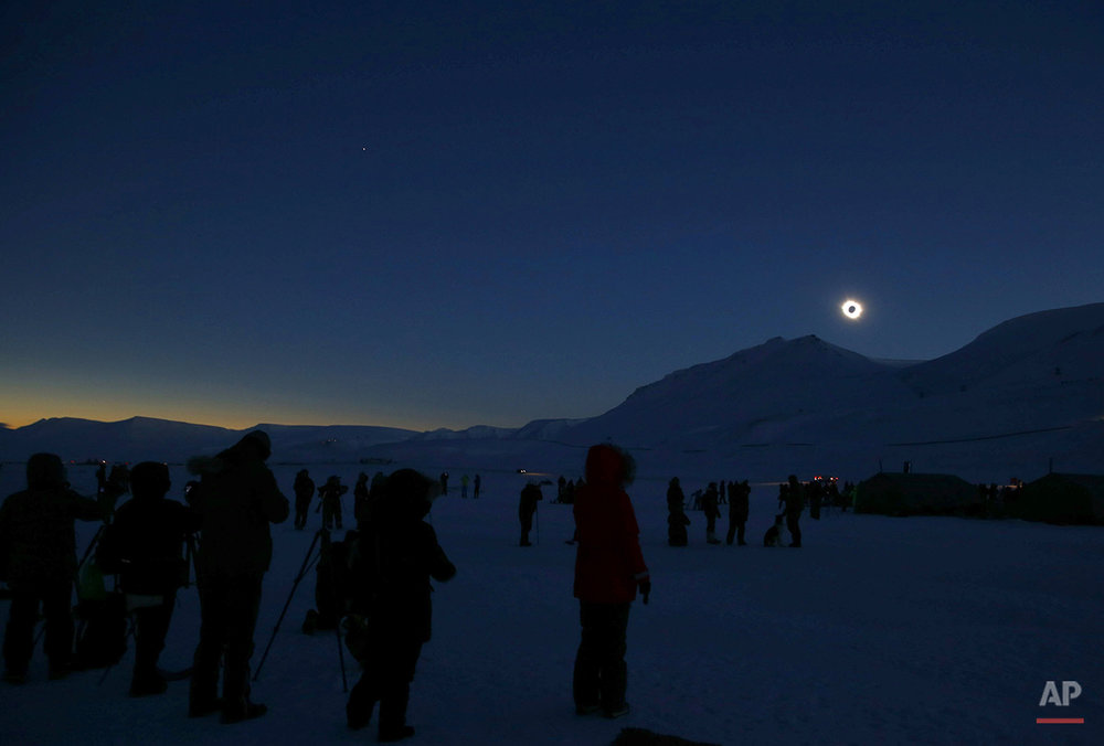 Europe Solar Eclipse Photo Gallery