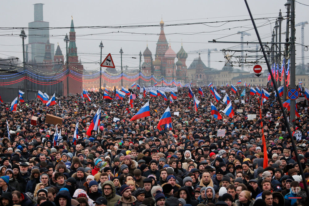 APTOPIX Russia Opposition March