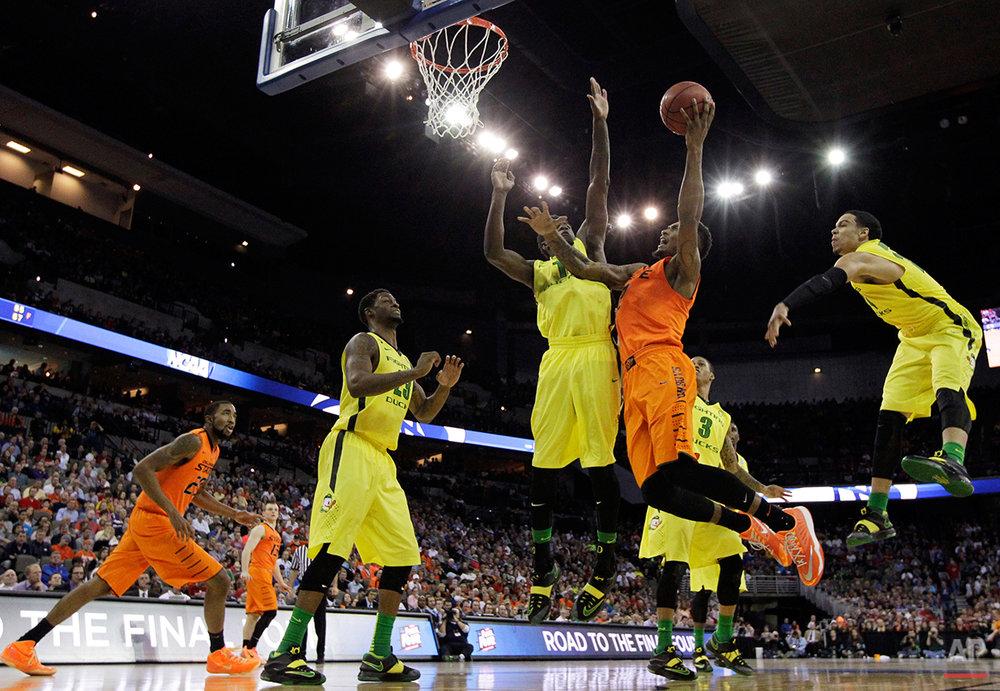 APTOPIX NCAA Oklahoma St Oregon Basketball
