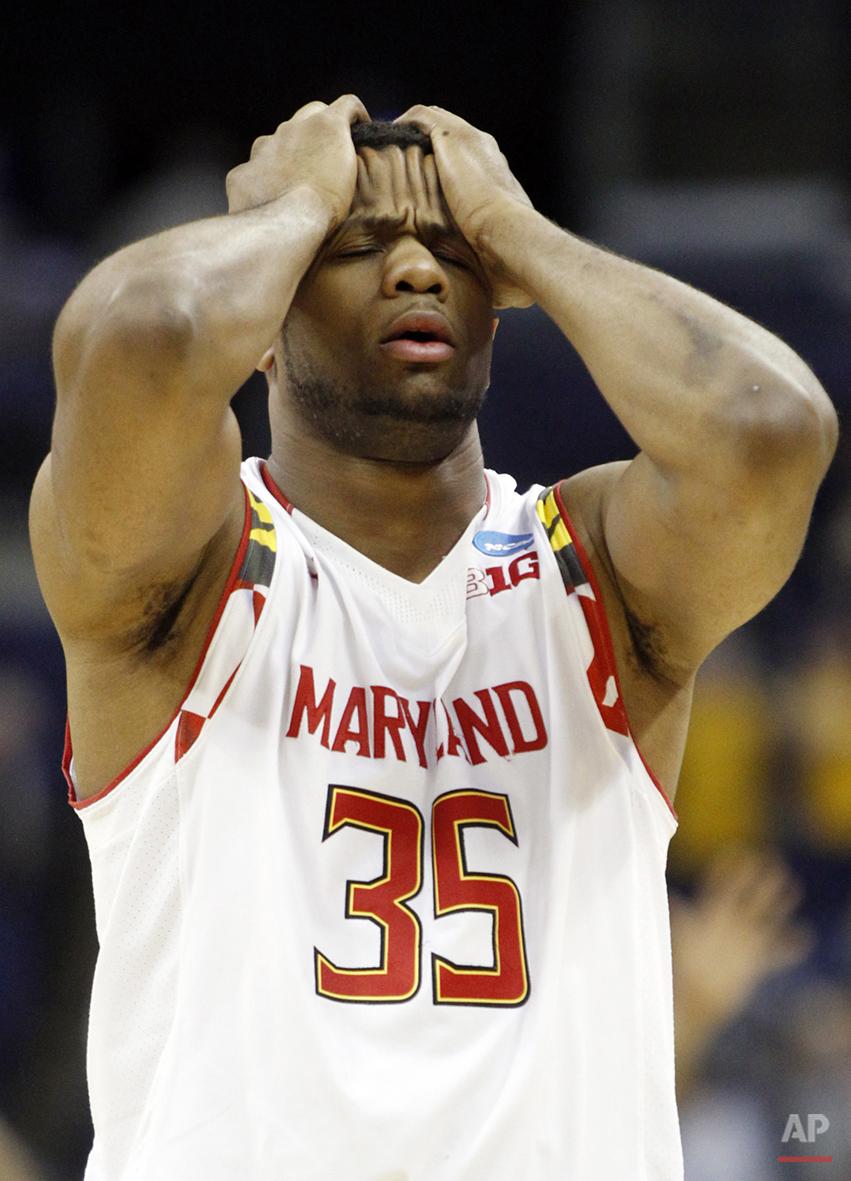 APTOPIX NCAA WVirginia Maryland Basketball