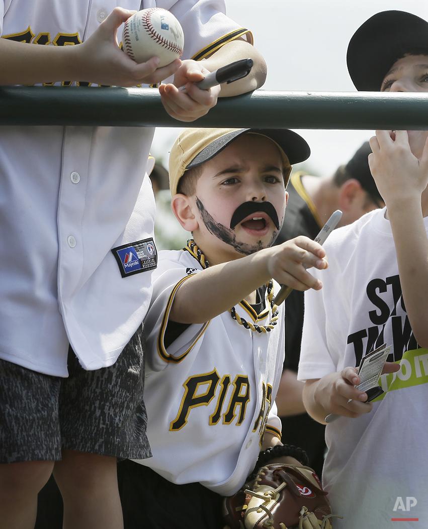 APTOPIX Pirates Orioles Spring Baseball
