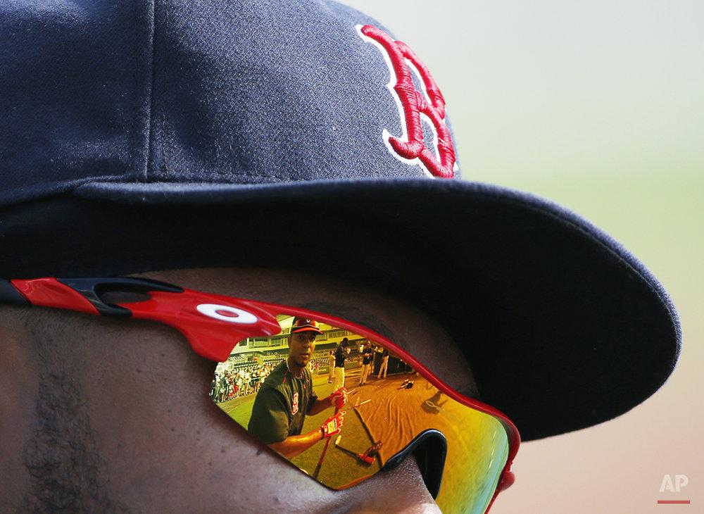 APTOPIX Twins Red Sox Baseball