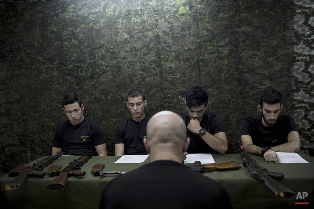 Mideast Israel Future Soldiers Photo Essay
