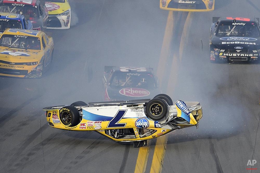 APTOPIX NASCAR Xfinity Auto Racing