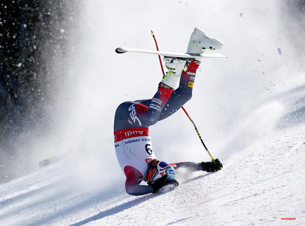 APTOPIX Worlds Mens Super-G Skiing