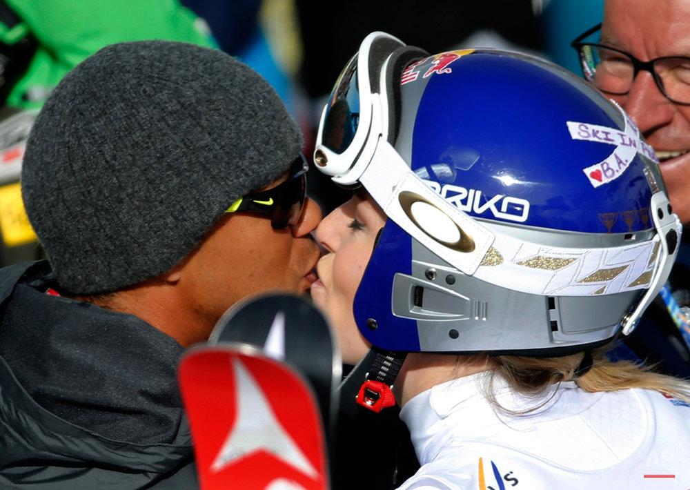 APTOPIX Worlds Womens Giant Slalom Skiing