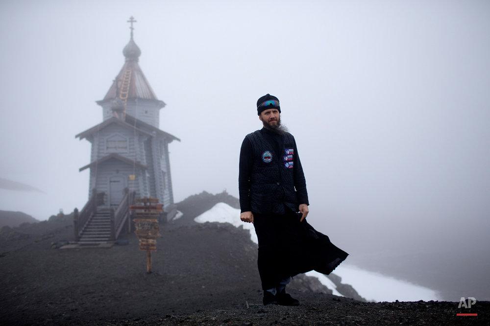 Antarctica Church At World's End