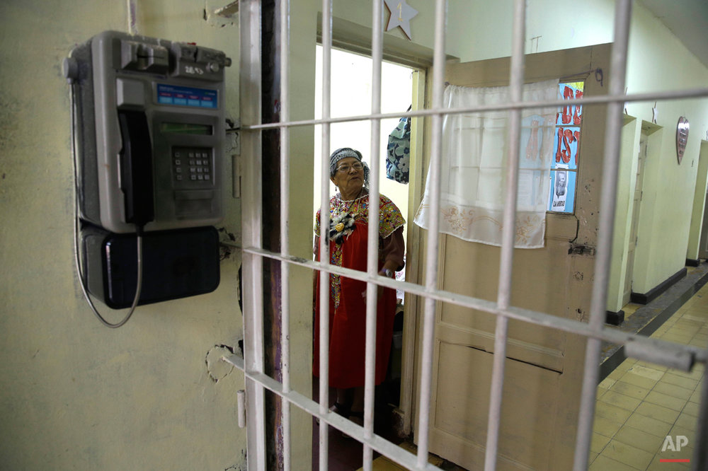 APTOPIX Peru Aged Inmates Photo Essay