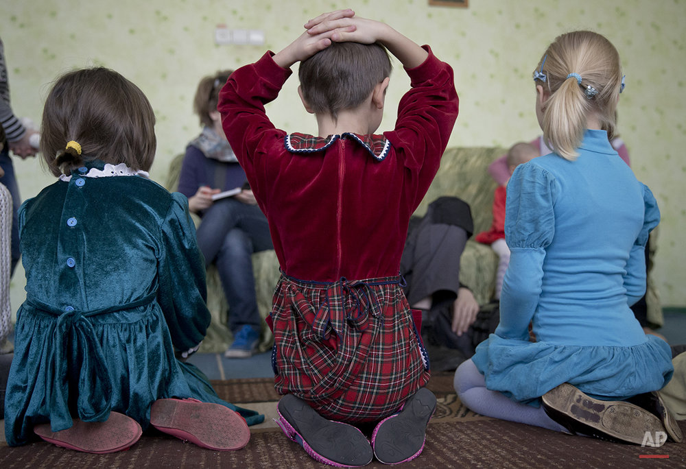 Ukraine Children of the War