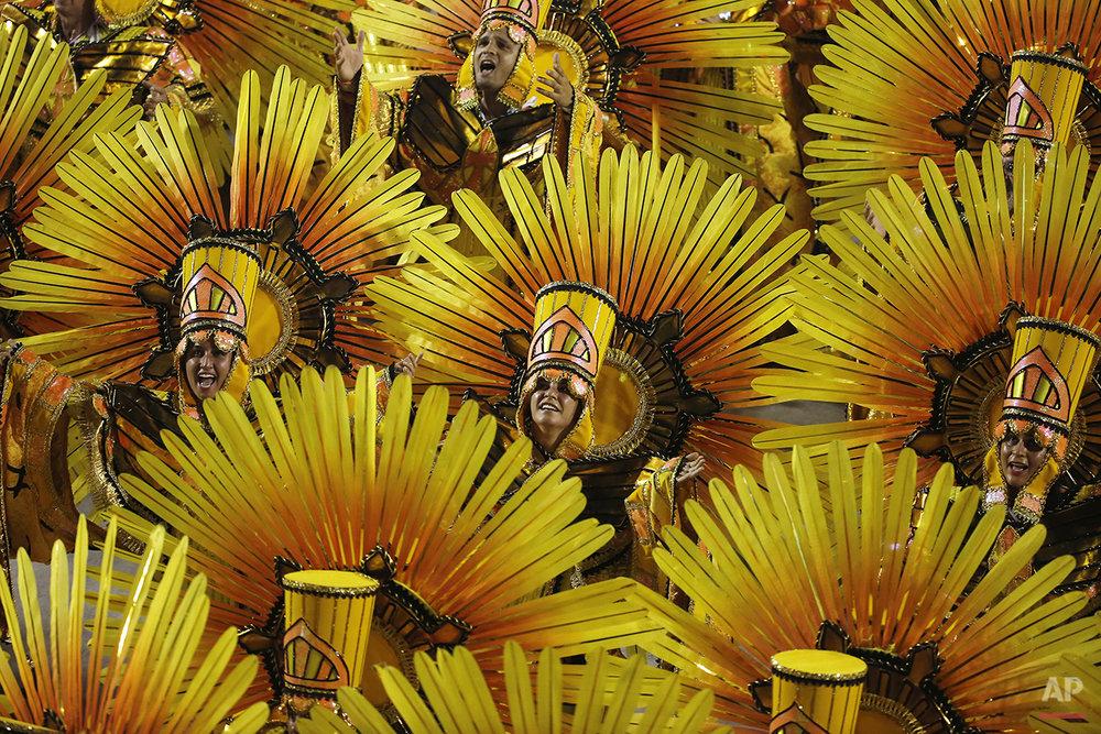 APTOPIX Brazil Carnival