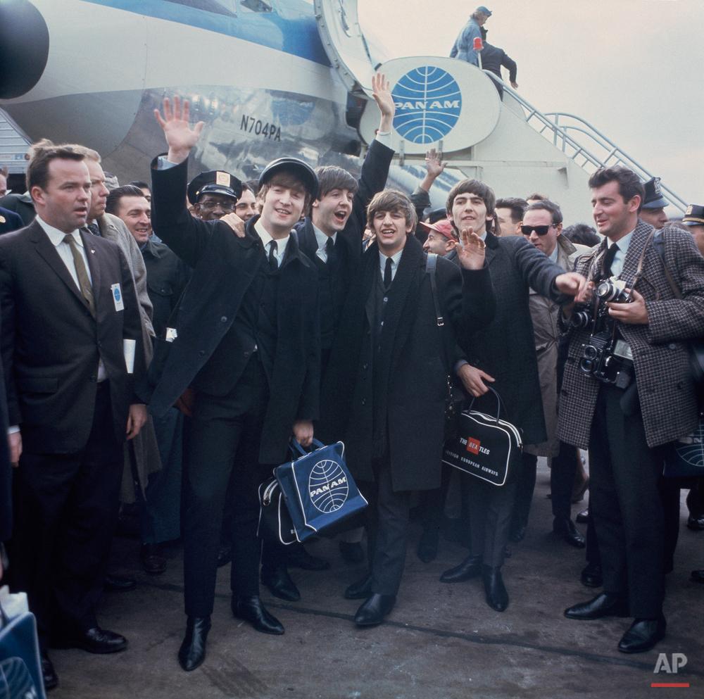 Beatles Arrive In NYC