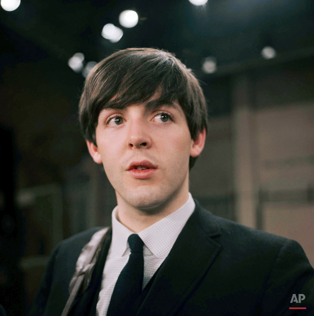Ed Sullivan Show McCartney 1964