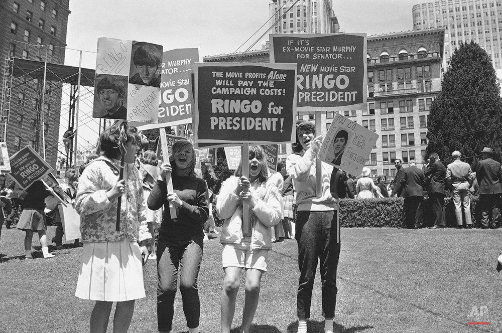 Ringo Starr For President 1964