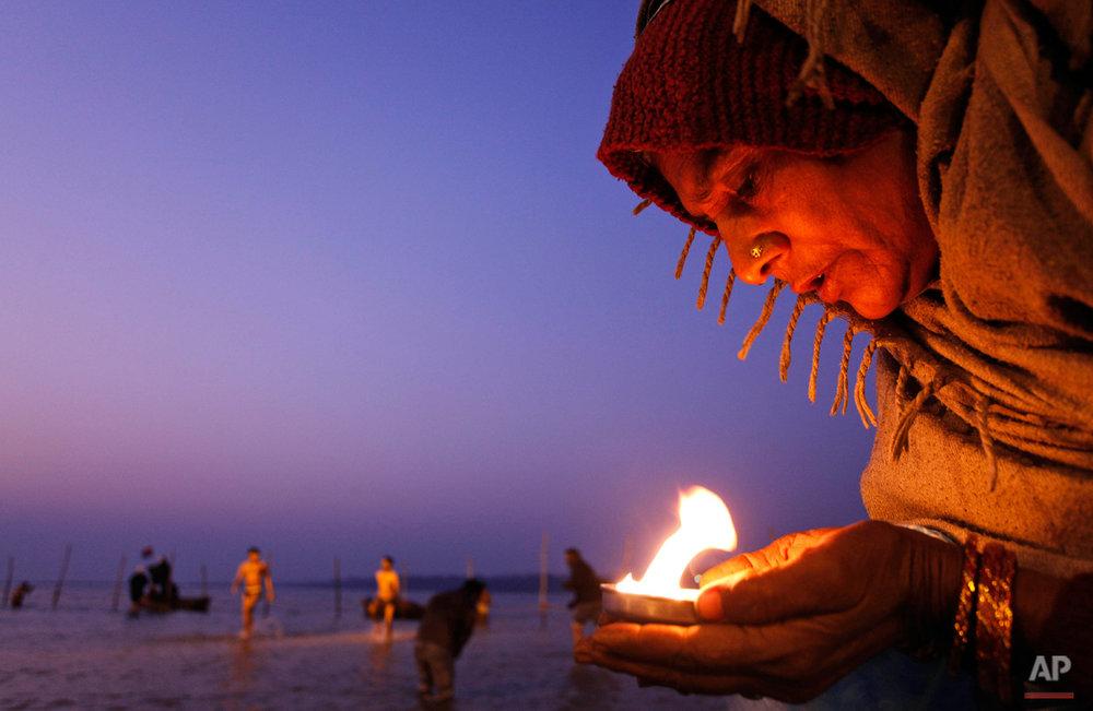 APTOPIX India Hindu Festival
