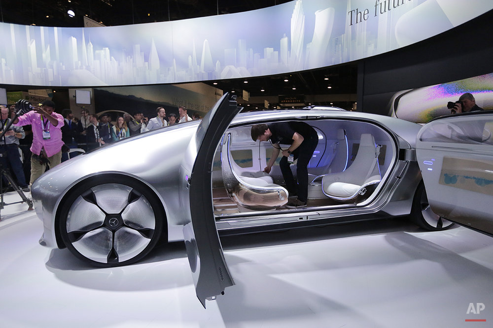 Gadget Show Mercedes Benz