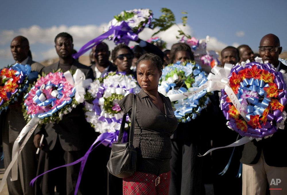 APTOPIX Haiti Earthquake Anniversary