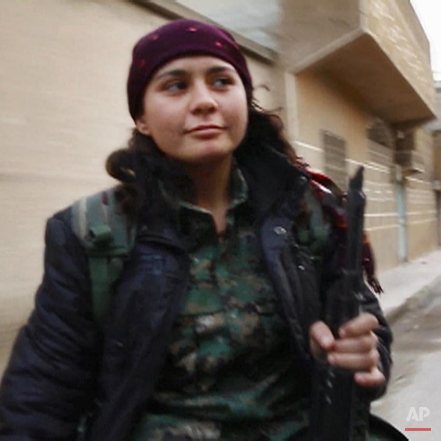Mideast Syria Inside Kobani