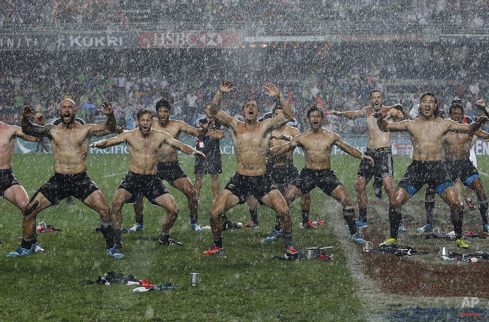APTOPIX Hong Kong Rugby Sevens