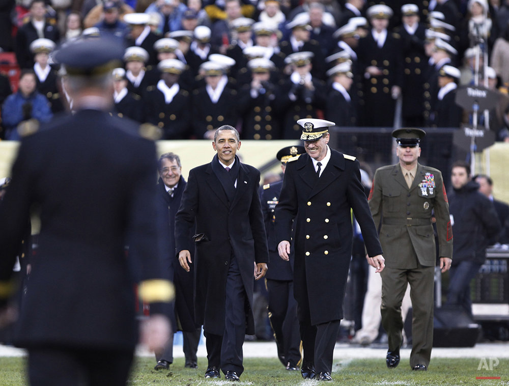 Obama Army Navy Football