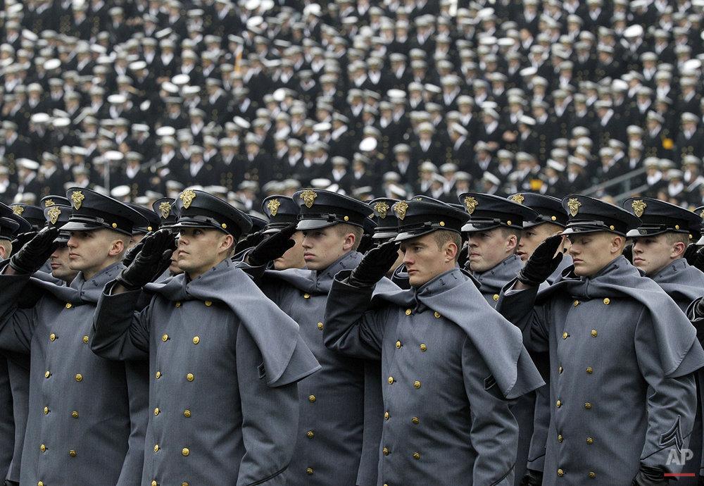 APTOPIX Army Navy Football