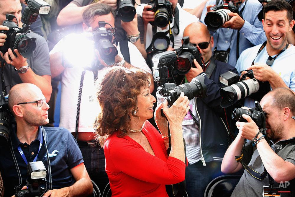 APTOPIX France Cannes Human Voice Photo Call