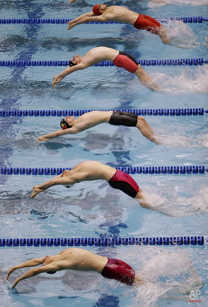 APTOPIX US Nationals Swimming