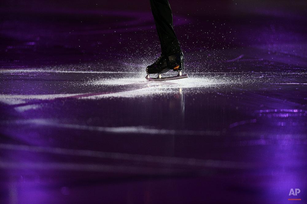 APTOPIX Spain Figure Skating Grand Prix Final