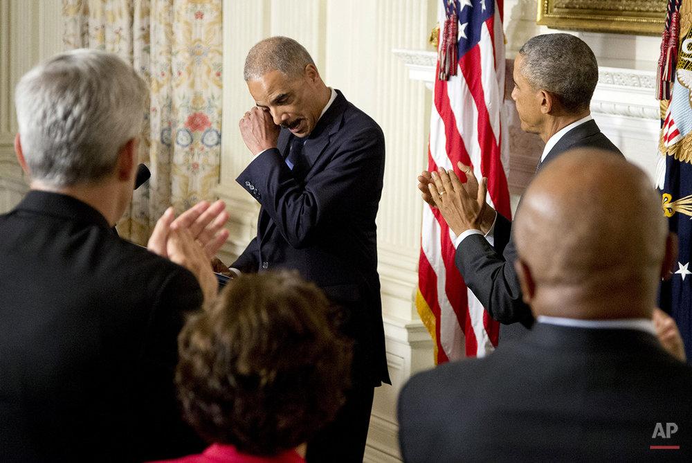 Obama Holder Resignation