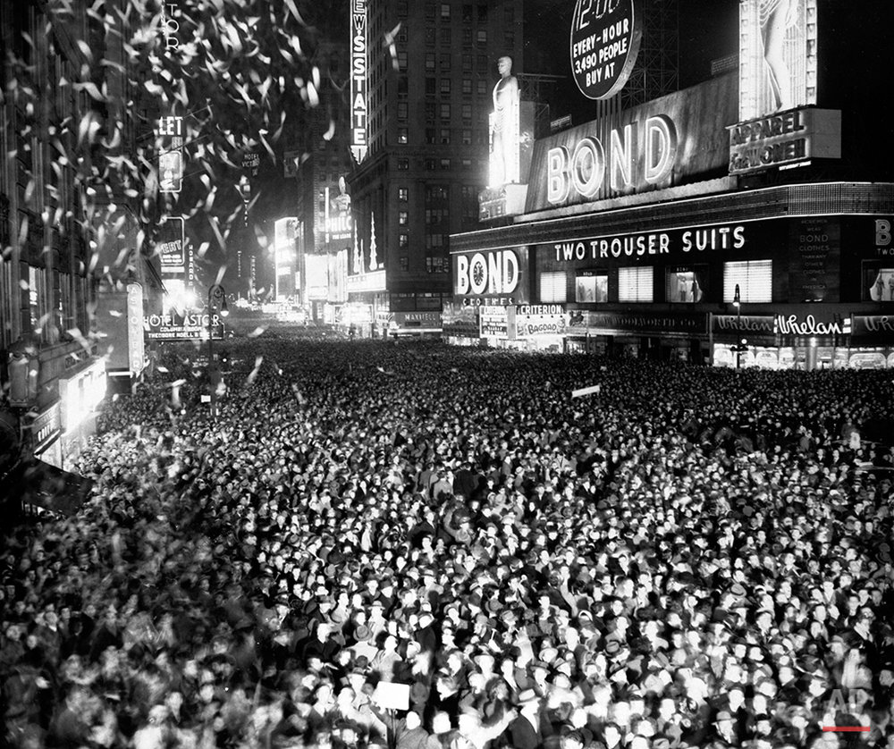 NYC NEW YEARS 1950
