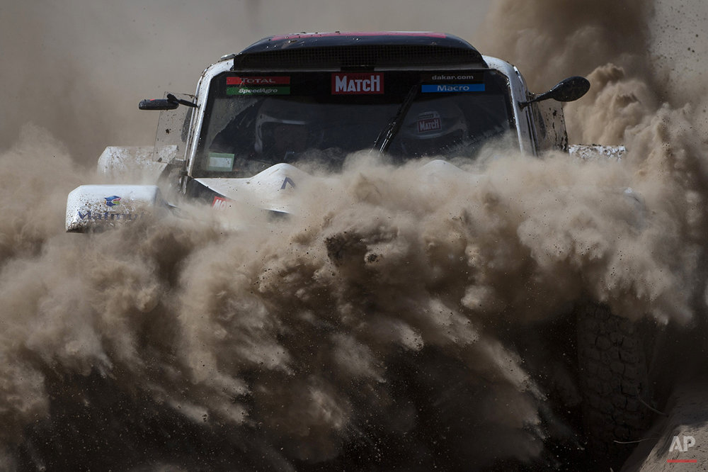 APTOPIX Argentina Dakar Rally