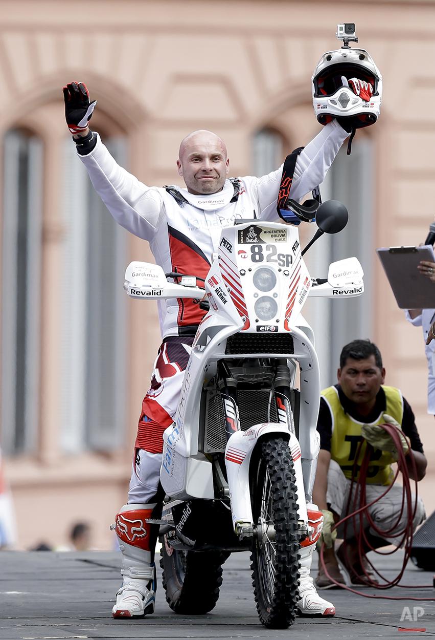 Argentina Dakar Rally Hernik Death