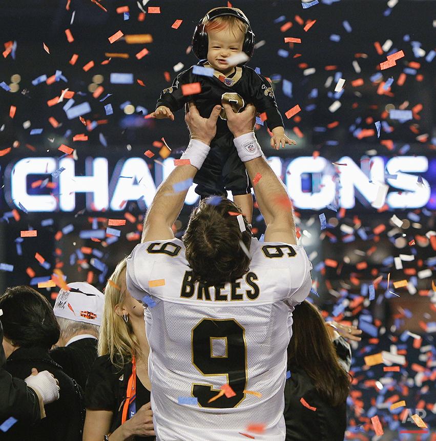 Super Bowl Football Exhibit