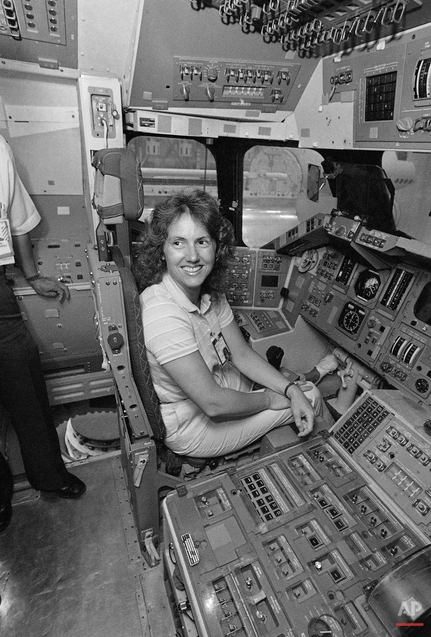 Space Shuttle Challenger McAuliffe 1986