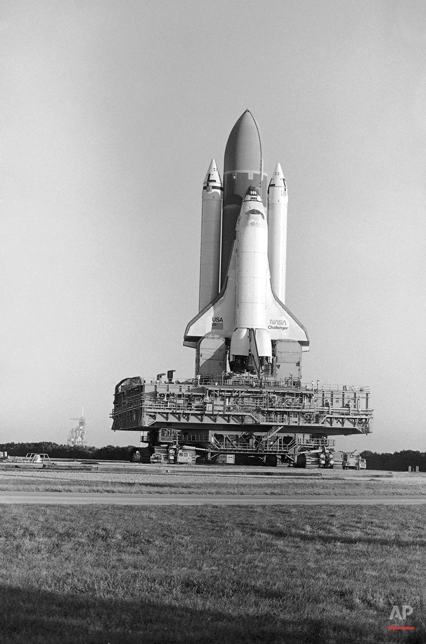 Space Shuttle Challenger disaster — AP Images Spotlight