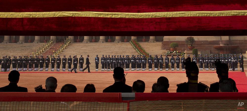 APTOPIX India US Obama