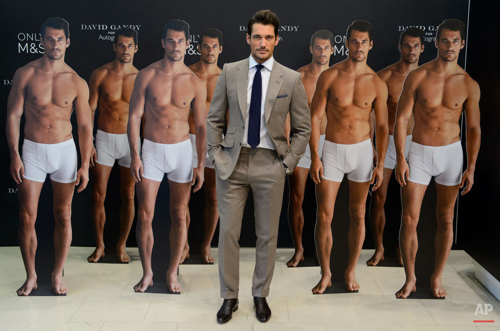 APTOPIX Britain David Gandy Photo Call