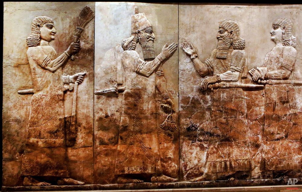 APTOPIX Mideast Iraq Imperiled Antiquities