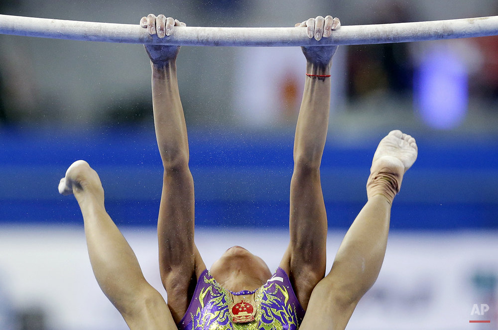 APTOPIX China Gymnastics Worlds