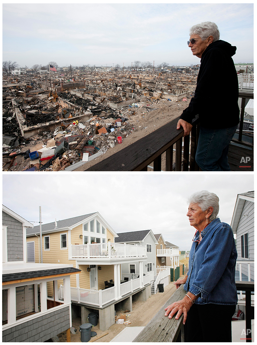 Superstorm Sandy Then and Now Photo Gallery