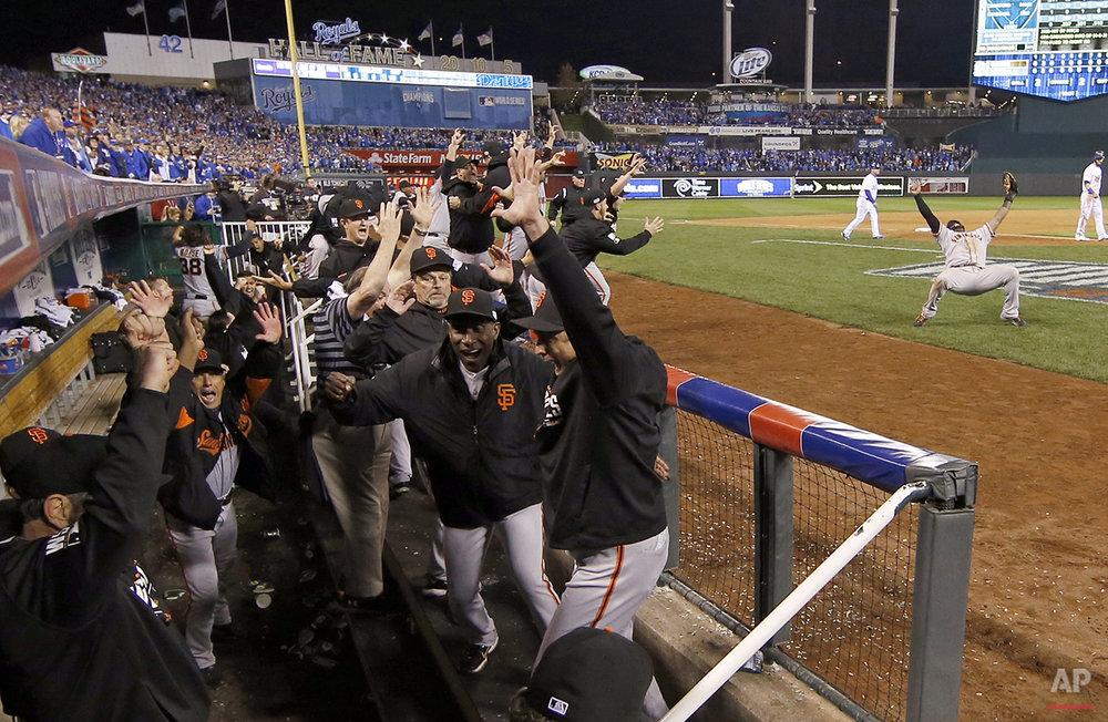 APTOPIX World Series Giants Royals Baseball