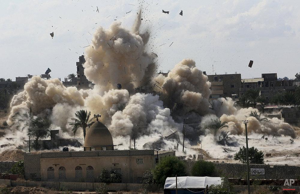 APTOPIX Mideast Palestinians Egypt